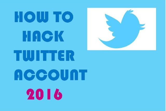How To Hack Twitter Account (2016 Updated)
